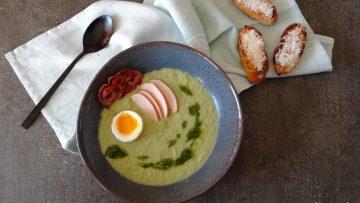 Caesar Salad soep