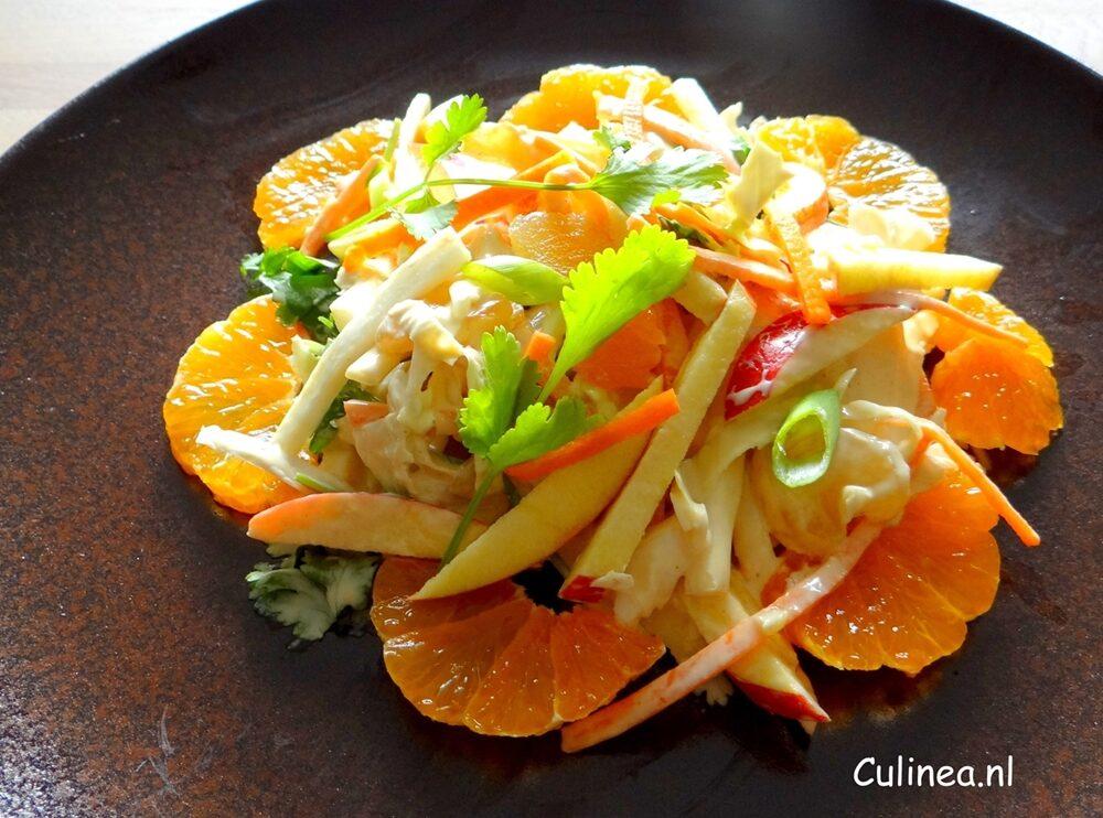 Chinese koolsalade met mandarijn
