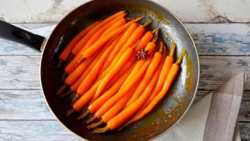 Feestelijke wortels