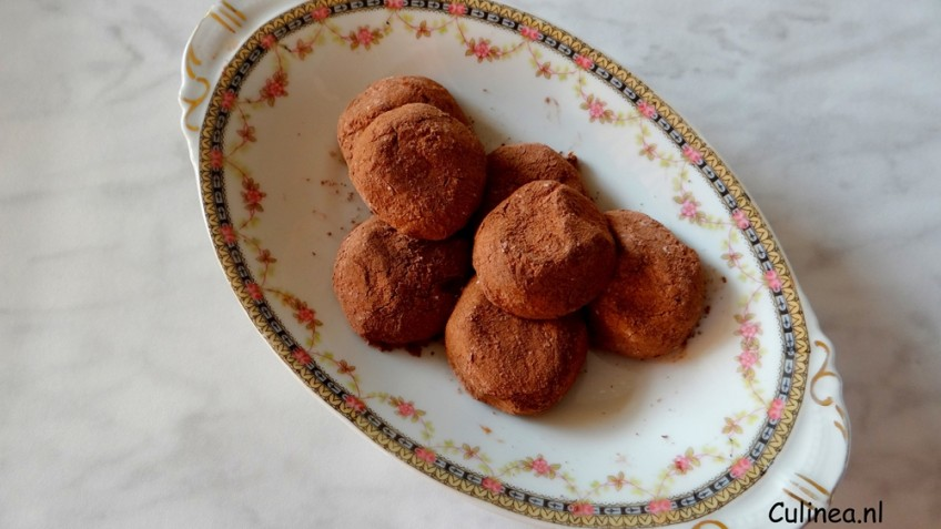 Chai chocoladetruffels