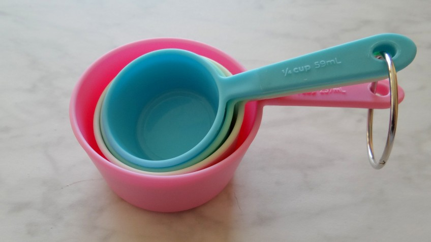 Omrekenen van cups en spoons naar grammen