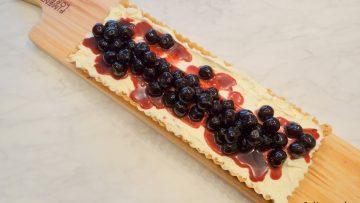 Kersen cheesecake taart