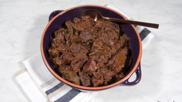 Mexicaans rundvlees met polenta