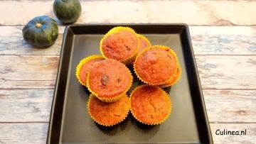 Pompoencake muffins