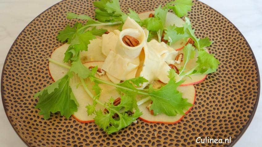 Raapstelen en knolselderij remoulade salade