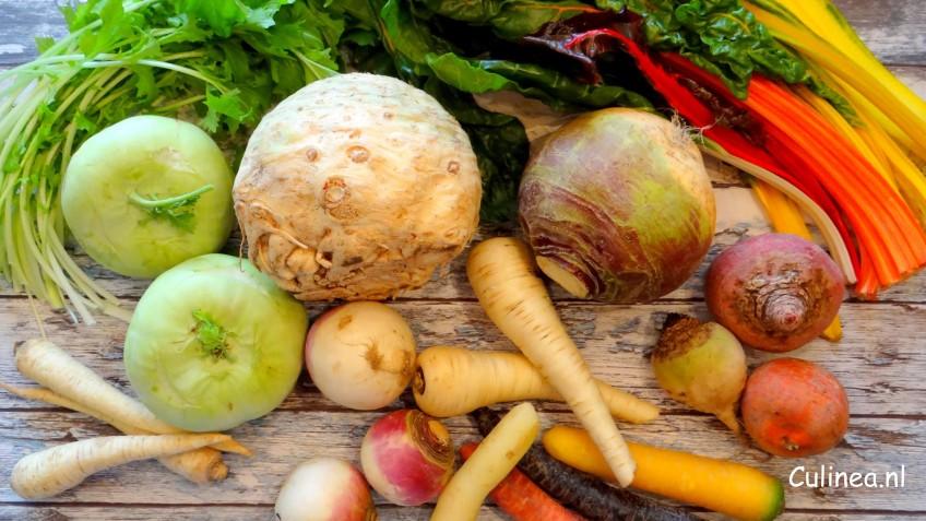 De opmars van vergeten groenten