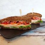 Club Sandwich met gerookte kip