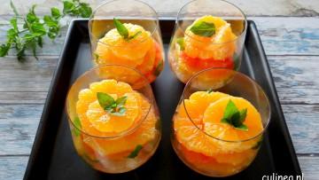 Citrus dessert