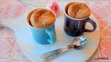 Mokka ontbijt mug cake