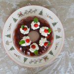 Cranberry en champagne Kerstkrans