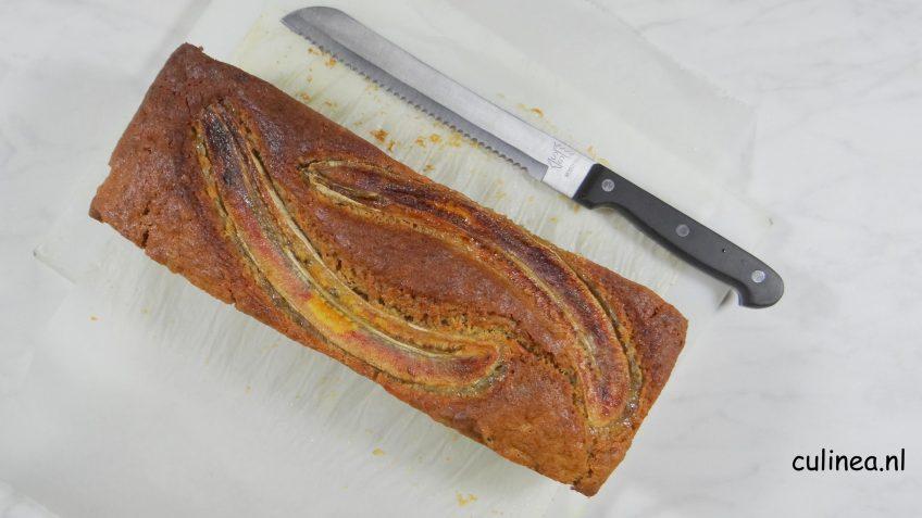 Kruidig bananenbrood met pompoen