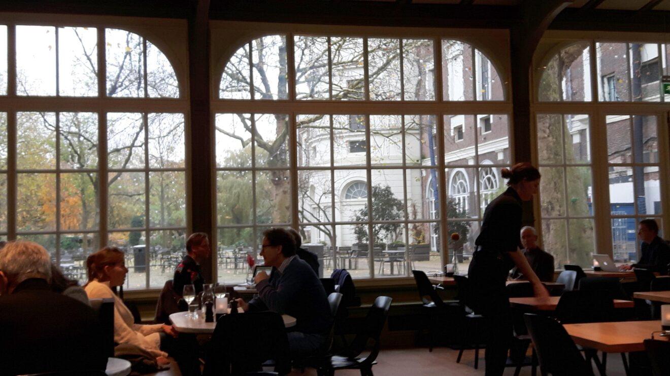 Lunch bij de Plantage in Amsterdam