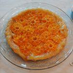 Tarte tatin van mandarijntjes