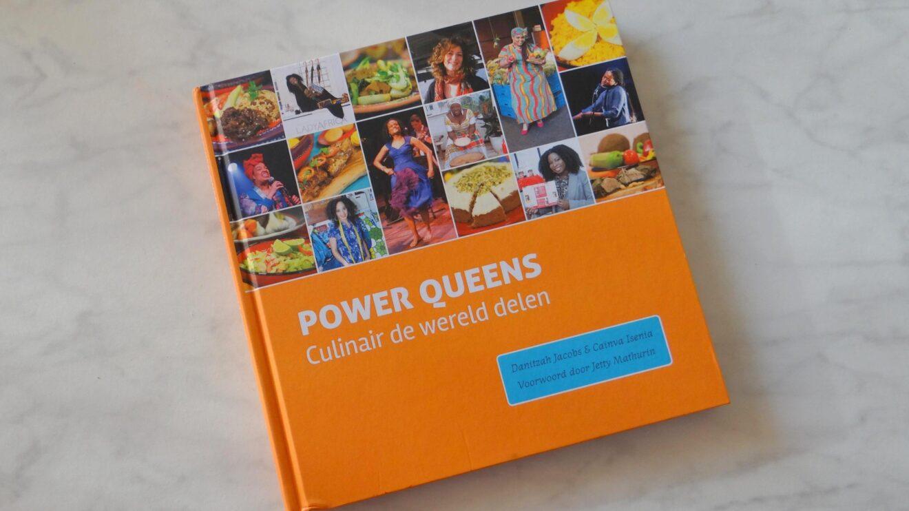 Boek Power Queens Culinair de wereld delen