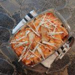 Lasagne met paddenstoelen en kaassaus