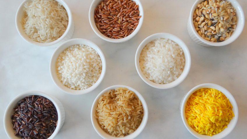 Welke rijstsoorten zijn er