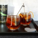 Santuario koffie cocktail met ginger ale en Grand Marnier