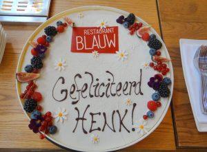 Restaurant Blauw in Amsterdam