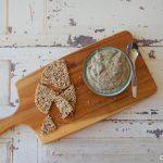 Hummus gemaakt van Puy linzen
