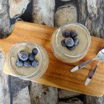 Quinoa yoghurt pindakaasmousse