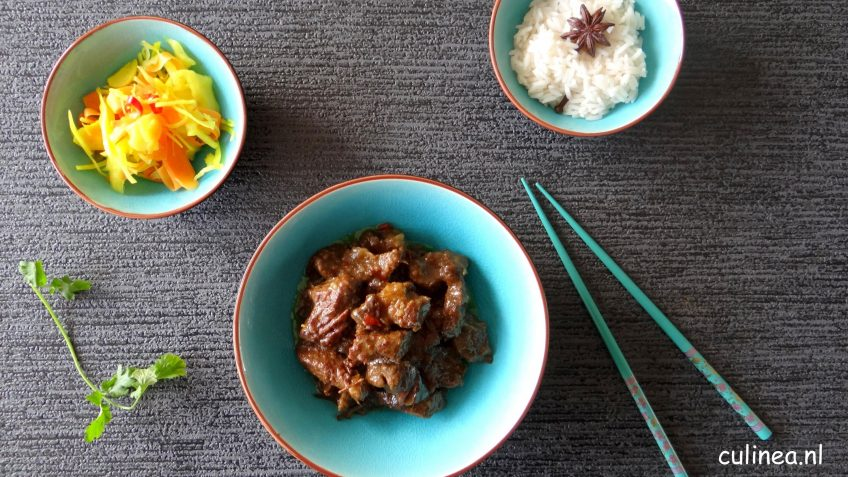 Indonesisch stoofvlees Rendang