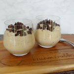 Chia koffie pudding
