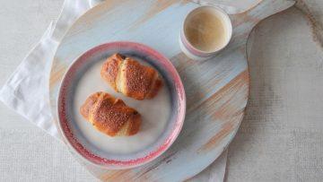 Zelf chocolade croissants maken