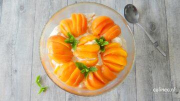 Eton Mess met perziken