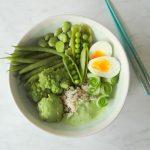 Buddha bowl van groene groenten