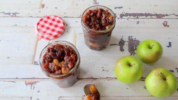 Chutney van appel en rozijnen