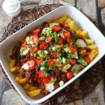 Patatje chili gehakt