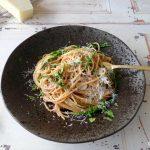 Spaghetti met zeekraal