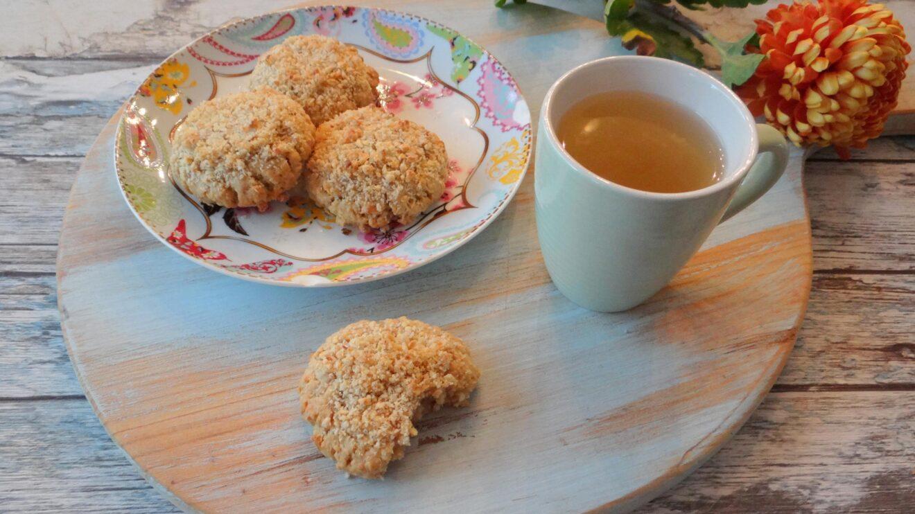 Appel kruimel koekjes
