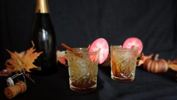 Appel cider cocktail
