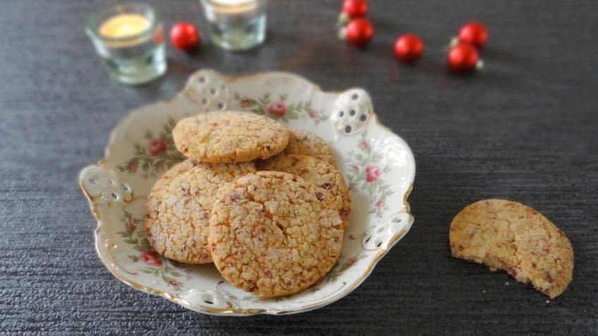 Cranberry Kerst koekjes