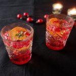 Champagnecocktail met granaatappel