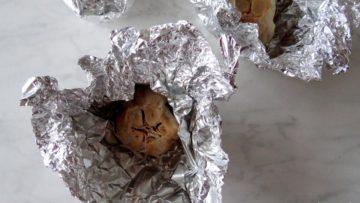In de oven gepofte knoflook