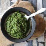 Indiase groene chutney