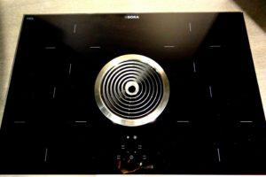 Met het koken op een inductieplaat heb je meer controle over de kooktemperatuur.