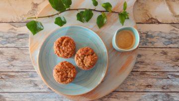 Muffins met vijgen, yoghurt en havermout