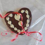 Chocoladehart voor Valentijn