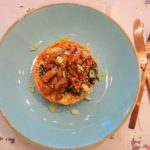 Kimchi stamppot met Bulgogi speklapjes