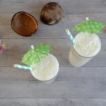 Koffie kokos milkshake