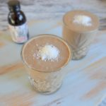 Koffie kokos smoothie