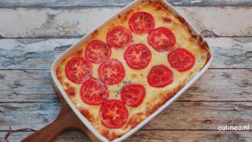 Pulled pork lasagne