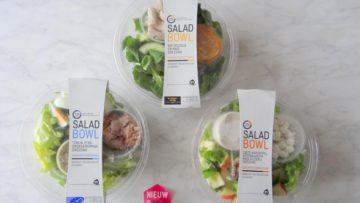 Nieuwe Saladbowls van Albert Heijn