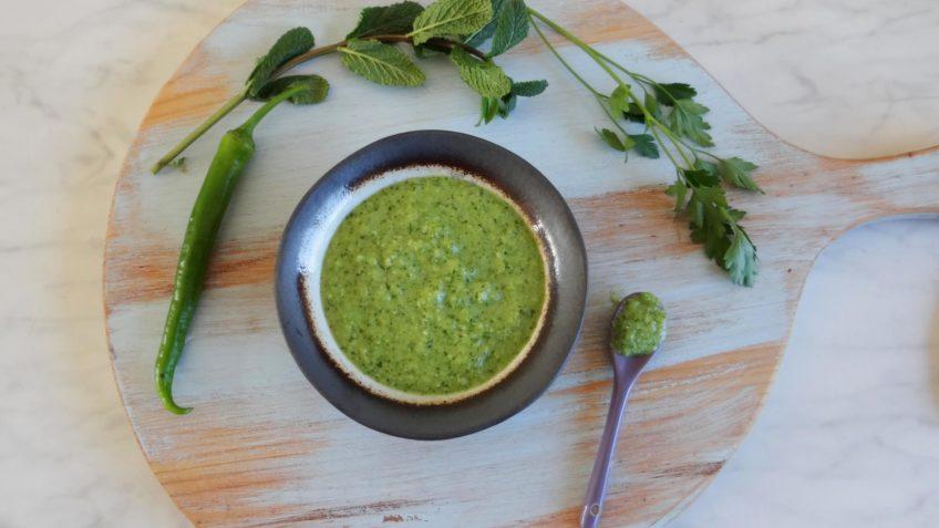 Thaise groene chilisaus