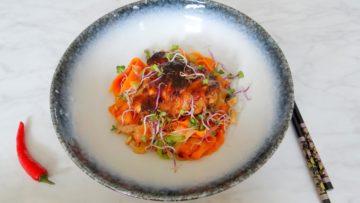 Thaise noedels met kip