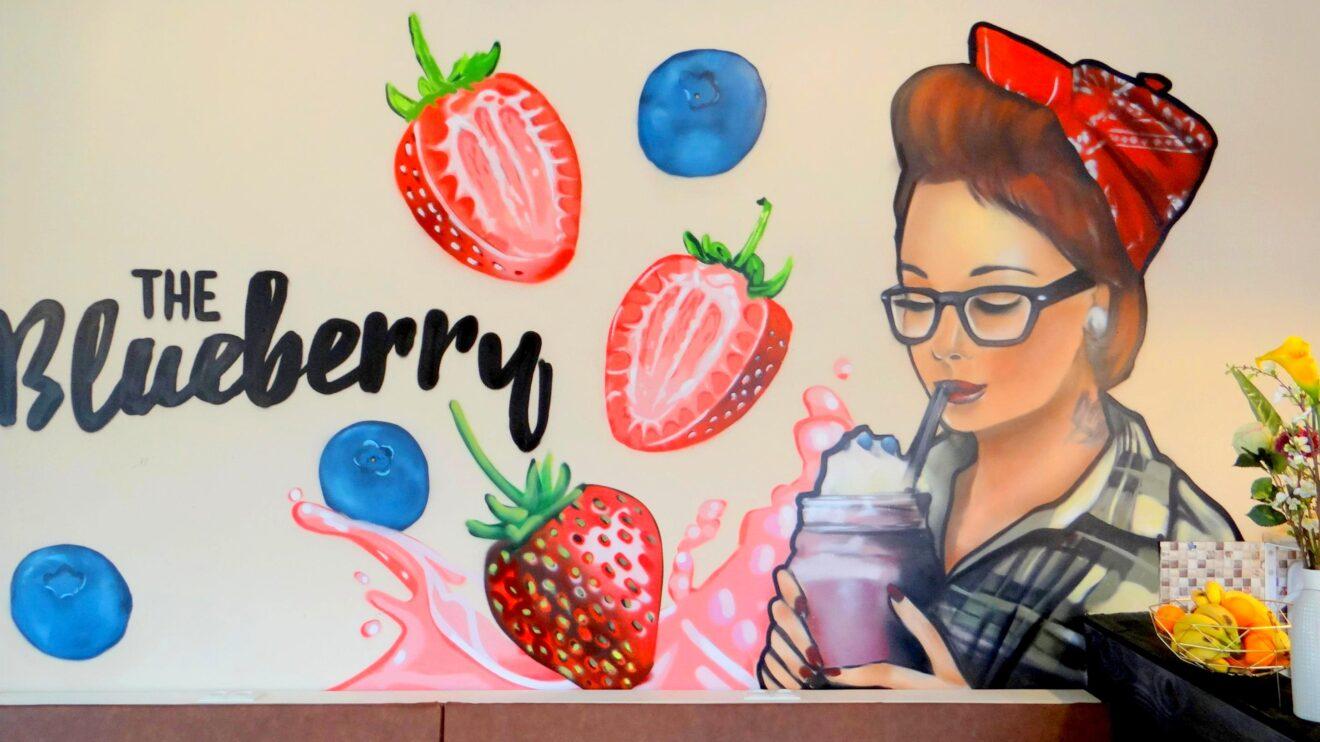 Amerikaans genieten bij The Blueberry in Amersfoort