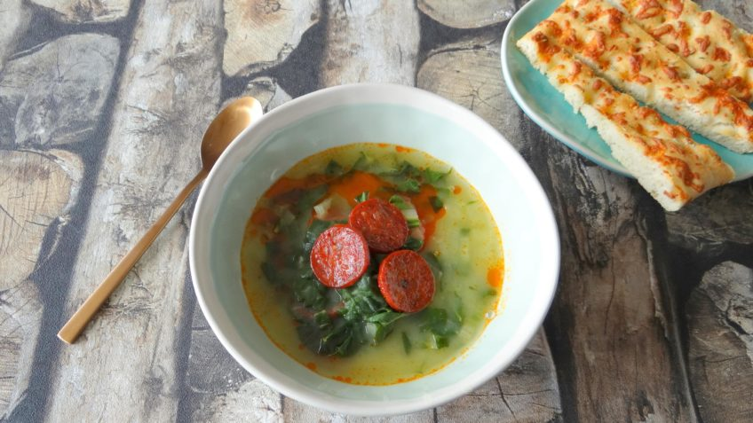 Portugese soep Caldo Verde
